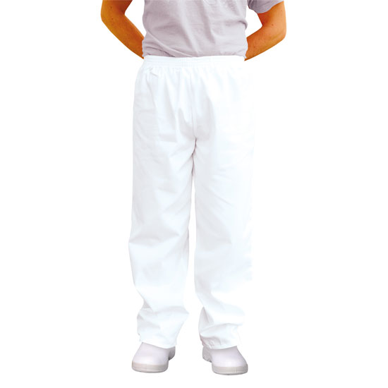BAKERS TROUSERS/WHITE
