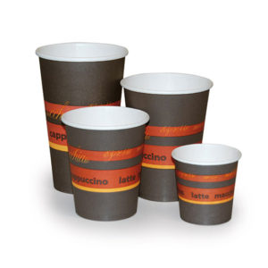 HOT DRINK CUP/SINGLEWALL/STANDARD PRINT/50pcs