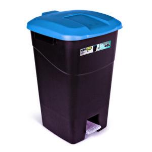 WASTE BIN/BLUE/WITH PEDAL/60L