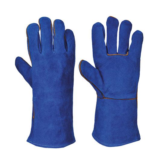 WELDERS GAUNTLET BLUE EXT LARGE