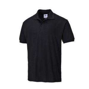 Naples Polo Shirt/Black