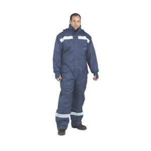 COLD-STORE COVERALL/NAVY/XTR-LARGE