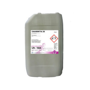 Causdeta 25 Low Foam HTST Detergent