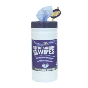 SURFACE SANITISER WIPES/BLUE/200MMX200MM/1X200PCS