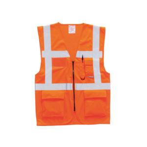 Berlin Executive Vest/Orange