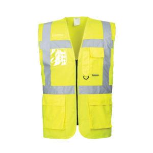 Berlin Executive Vest/Yellow