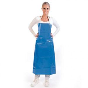 PU APRON/BLUE/130cm x 90cm