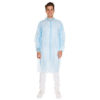 PP DISPOSABLE VISITOR COAT/BLUE/EXTRA EXTRA LARGE/110cm/30gsm