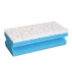 CLEANING SPONGE/BLUE/15cm x 7cm x 4.5cm/10pcs