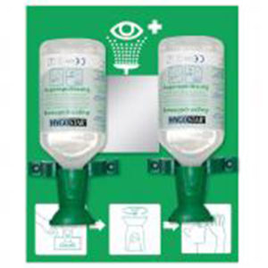 OCULAR RINSING BOTTLE STATION/DOUBLE/30cm x 25cm/500ml