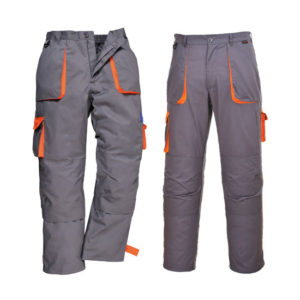 TEXO CONTRAST TROUSERS/CHARCOAL