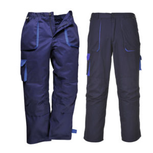 TEXO CONTRAST TROUSERS/NAVY