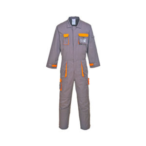 TEXO CONTRAST COVERALL/CHARCOAL