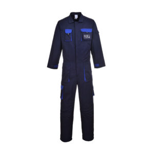 TEXO CONTRAST COVERALL/NAVY